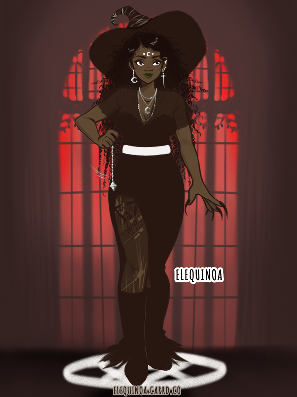 hewwoween Ama? made with Glam Witch