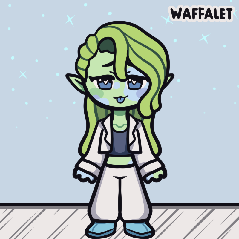 Poppy Sicle made with Chibi Avatar Maker